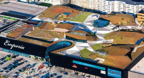 Emporia Einkaufszentrum, Malmö, Schweden